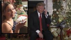 La niña a la que Trump quiso hacer dudar sigue creyendo en Papá