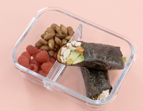 Project Lunchbox: Keto 'sushi' rolls