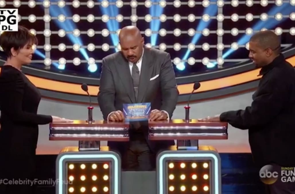 See the first look at 'Family Feud' with the Kardashians