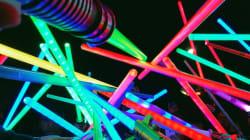 Des milliers de sabres lasers rendent hommage à la Princesse