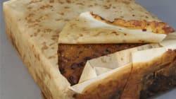 Ce cake aux fruits centenaire a été découvert parfaitement intact en