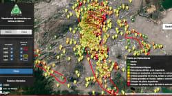 ¿Los sismos han dañado la colonia donde vives? Averígualo con esta