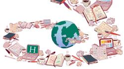 La une du HuffPost illustrée en dessins pendant 24 heures pour l'ouverture du Festival