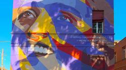 Un murales per Mimma, la partigiana torturata e uccisa dai