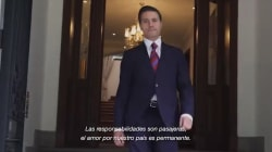 EPN se despide de México y recuerda que siempre trabajó por las grandes