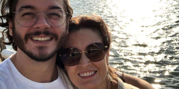 Túlio Gadêlha e Fátima Bernardes comemoram 10 meses de namoro.