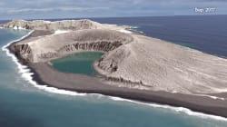 La plus jeune île de la Terre donne des indices sur... la vie sur