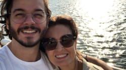 Fátima comemora 10 meses com Túlio: 'Não precisa de coragem para namorar. Só