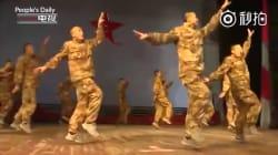 La chorégraphie sublime de soldats chinois pour l'année du