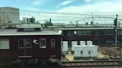 この電車の名は。人気映画のワンシーンを思い出す動画が大人気