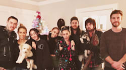 Liam Hemsworth Joins Miley Cyrus For Her Family Christmas