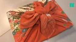 Pour emballer vos cadeaux façon zéro déchet, voilà la technique japonaise du