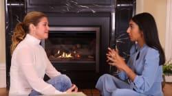 Sophie Grégoire Trudeau Talks To Poet Rupi Kaur About Healing After