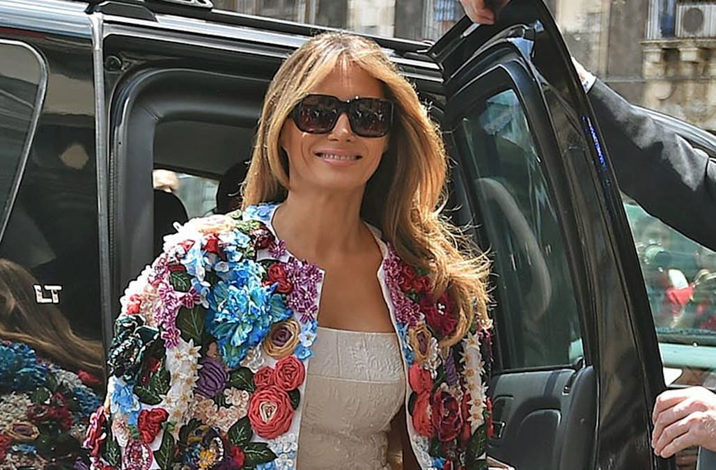 41acfe24b 14 of Melania Trump's most expensive outfits. Business Insider