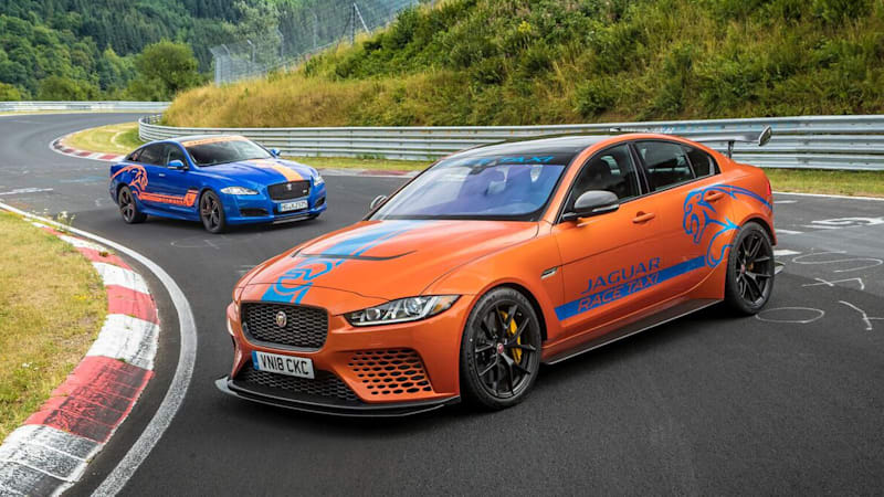 Jaguar Xe Sv Project 8 Is Now A Nurburgring Taxi Autoblog