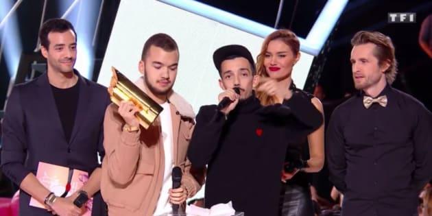BigFlo et Oli sur la scène des NRJ Music Awards 2017