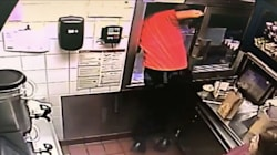 McDonald's Worker Jumps Through Drive-Thru In Attempt To Save Woman's