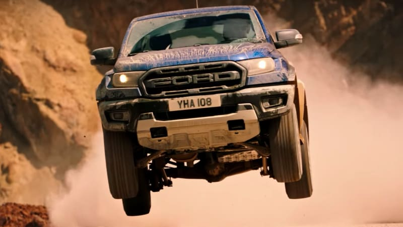 Ford Ranger Raptor shows its off-road chops in trailer-style video feature