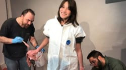 Carla Bruni-Sarkozyrejoindra le musée Grévin en