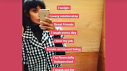 Jameela Jamil's 'I Weigh' Instagram Celebrates Body Positivity,