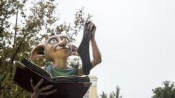 Ha ocurrido algo maravilloso con una estatua de Harry Potter en