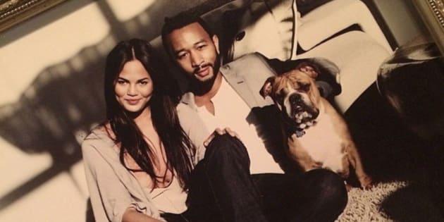 John Legend et Chrissy Teigen en deuil après la mort de leur chien