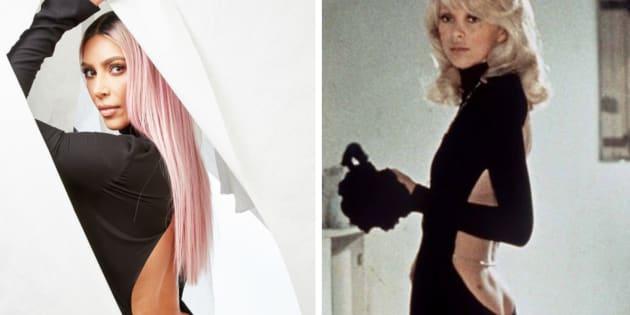 OSCARS 2018: Quand Kim Kardashian se la joue Mireille Darc