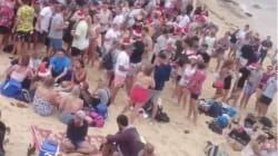 Two Massive Drunken Beach Parties Marred Christmas In