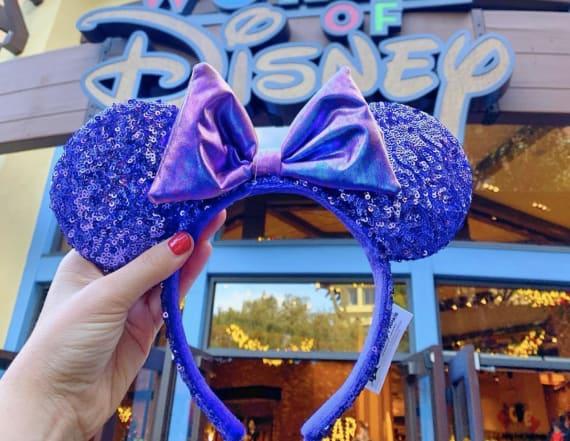 Disney has new 'potion purple' sequin mouse ears