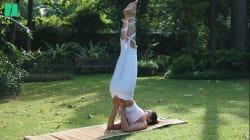 Cinq poses de yoga faciles pour avoir... de beaux