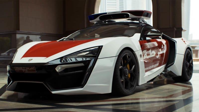 Lykan Hypersport Joins Abu Dhabi Police Motor Pool Autoblog