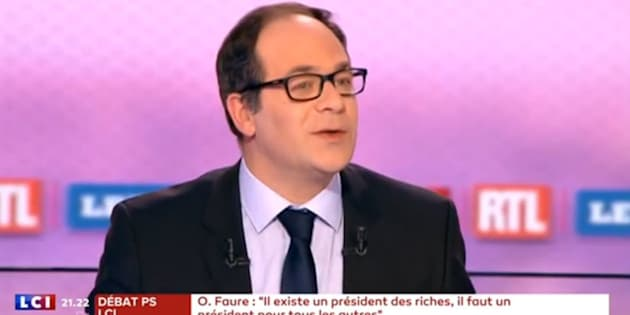 Au débat du PS, Emmanuel Maurel était le sosie de François Hollande.