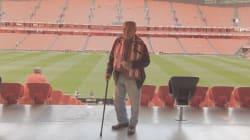 ¡Bravo!: El Athletic se moja y ayuda a una tuitera a organizar un cumpleaños inolvidable para su abuelo