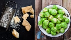 Watch: How To Make Parmesan-Crusted Brussels