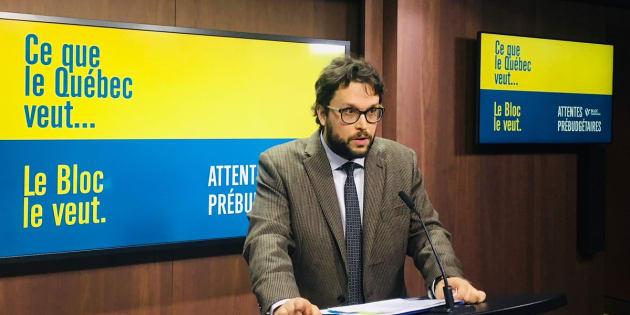 Gabriel Ste-Marie a expliqué les priorités du Bloc québécois en vue du budget.