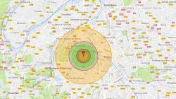 Voici l'impact que pourrait avoir sur Paris une bombe H aussi puissante que celle testée par la Corée du