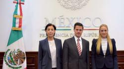 Peña Nieto finalmente recibe a Lilian Tintori, esposa de líder opositor