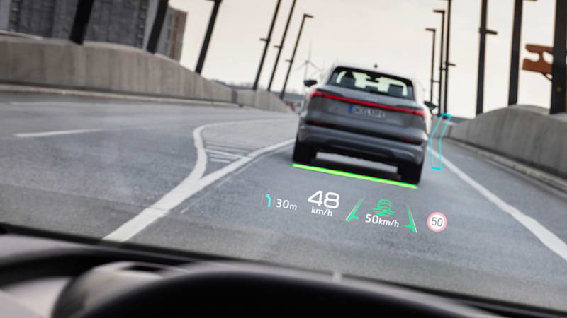 Audi Q4 E-Tron electric crossover will have a dynamic AR heads-up display