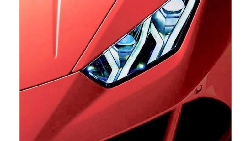 2020 Lamborghini Huracan Teased Ahead Of Reveal Autoblog