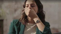 La cara que se le quedó a Inés Arrimadas al ver el loquísimo vídeo que le enseñó Jordi