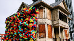 Balloon-Covered Calgary House Is A Delightful Homage To