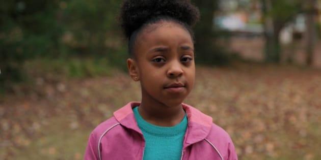 Papel de Priah Ferguson, de 11 anos, conquistou os fãs da série sensação da Netflix.