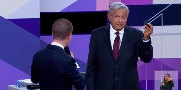El segundo debate presidencial se caracterizó por los señalamientos entre ambos abanderados.
