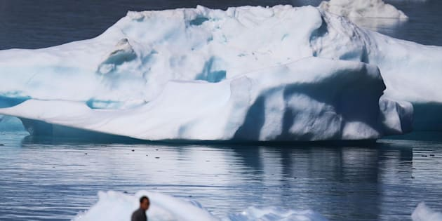 "The coastal glaciers and ice caps of Greenland are ""doomed,"" according to a new study."