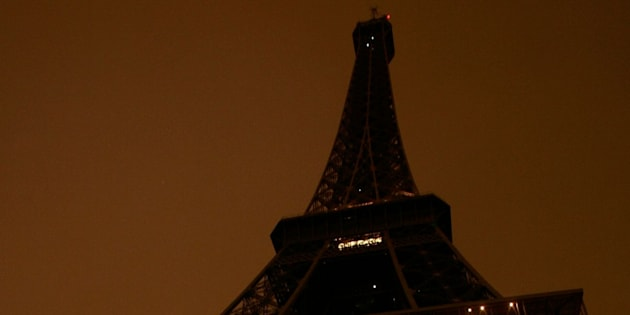 In 2007, the Eiffel Tower went dark as part of an environmentalcampaign.
