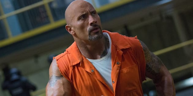 """Dwayne Johnsonstars as Hobbs in """"The Fate of the Furious,"""" which grossed more than $1 billion."""