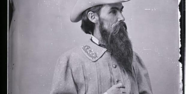 Retrato do general William Mahone (1826-1895).