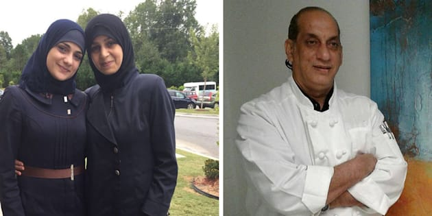 Les sœurs Bakri et Nazer Ghazal ont apporté des plats délicieux aux réfugiés climatiques.