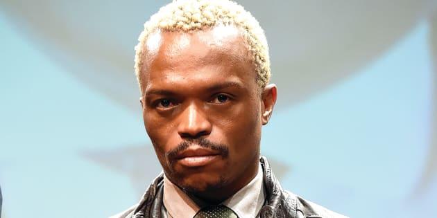 Media personality, Somizi Mhlongo