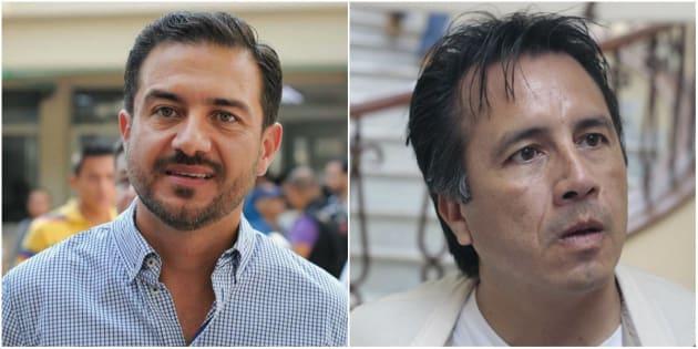 Miguel Ángel Yunes Márquez y Cuitláhuac García se disputan una de las contiendas más cerradas de las gubernaturas que se renuevan este año.